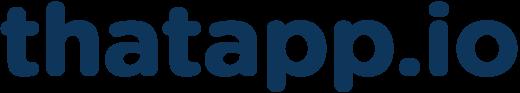 Thatapp Logo